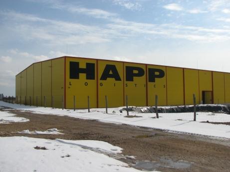 Happ Kft raktárbázis Partner: Pallér Csarnok Kft