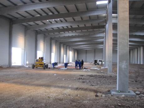 Happ Kft 5000 m2-es csarnok épülete