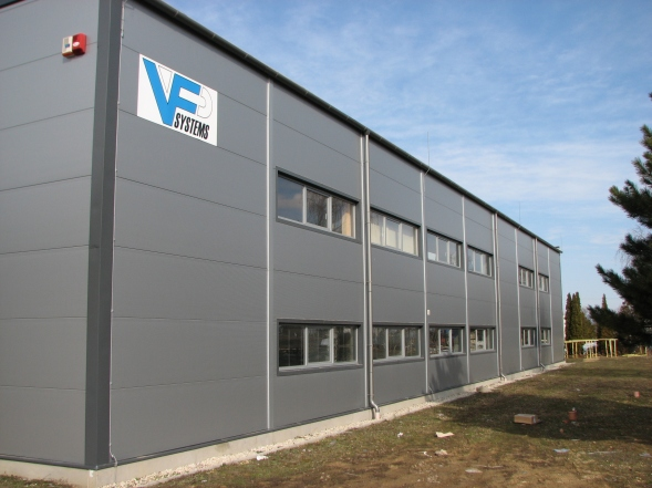 Chemconsul Kft. 900 m2-es új épülete Partner ASA hungária, Gábriel Bt.