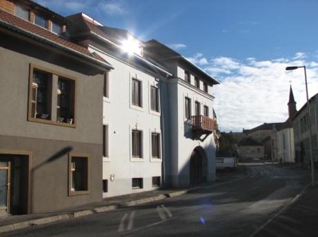 Veszprém, Jókai utca, lakások