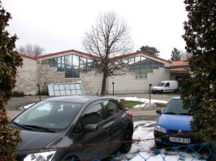 Veszprém Pápai út nyomda üzem raktárai